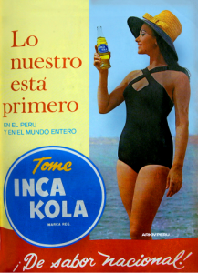 ad for Inca Kola