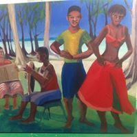 painting of dancers