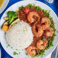 picture of shrimp and rice