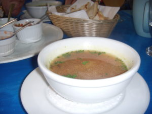 photo of bowl of soup