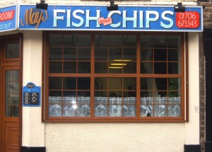 Mays Fish and Chips, Oldham